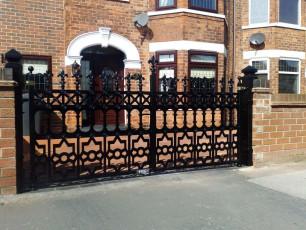 Gothic-Style-Wrought-Iron-Gates