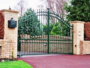 Green-Wrought-Iron-Gates