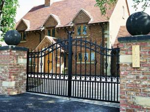 Wrought-Iron-Gates
